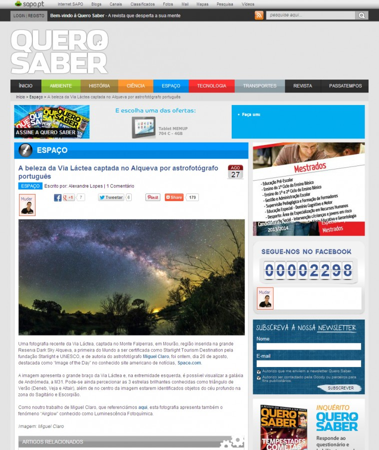 QueroSaberOnline-NewsSapo-27-08-2013-Inside
