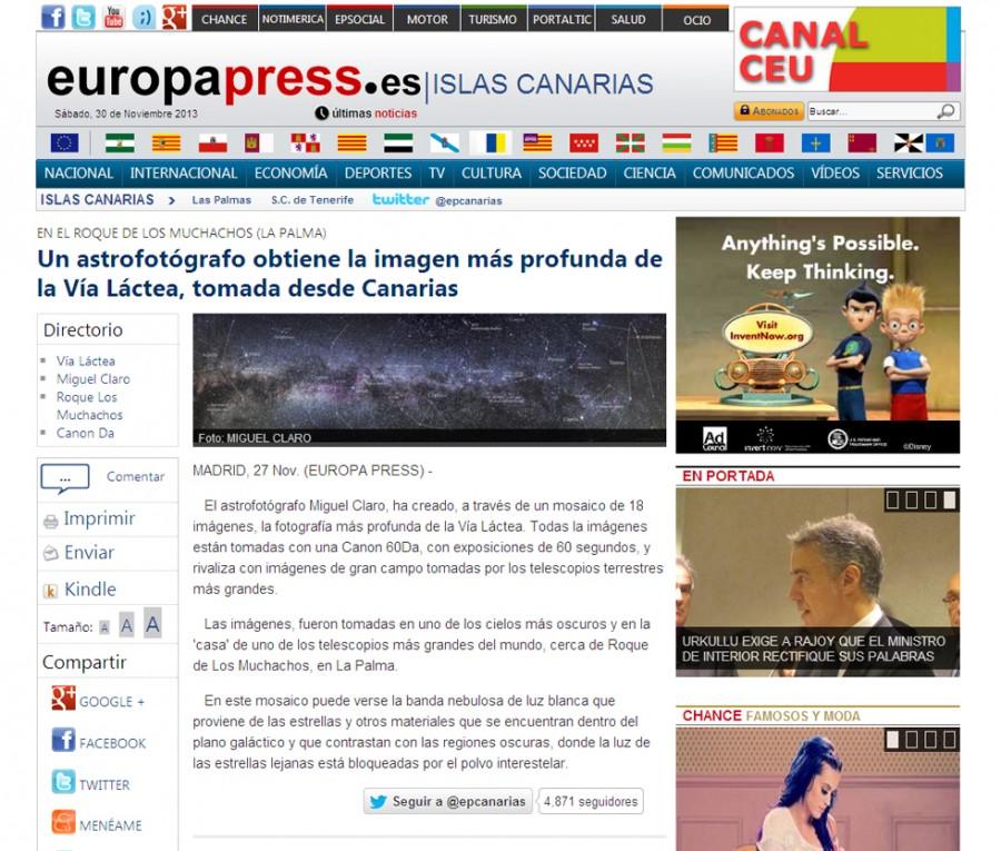 EuropaPress-Eapanha-27-11-2013