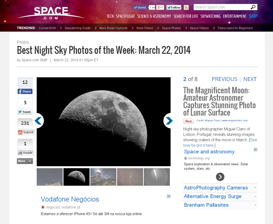 SpaceCom-Best Night Sky-22-03-2014