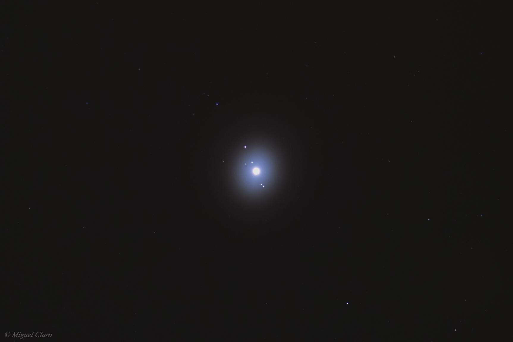 Jupiter Aureole & four Galilean Moons @ Astrophotography ...