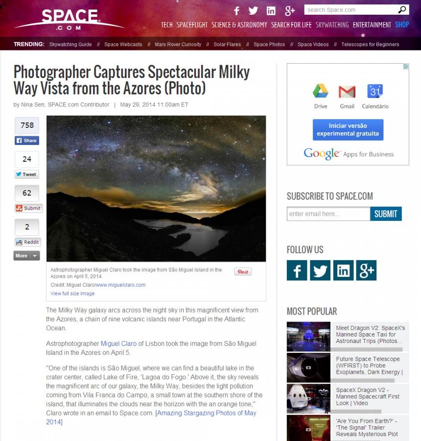 SpaceCom-Article-SpectacularMilkyWay-Azores-29-05-2014