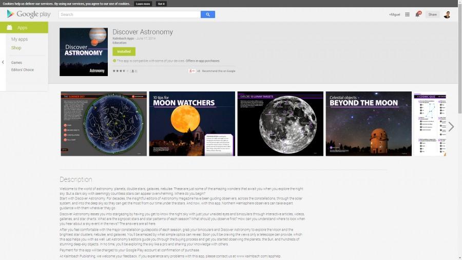 AstronomyAPP-GoolePlayStoare