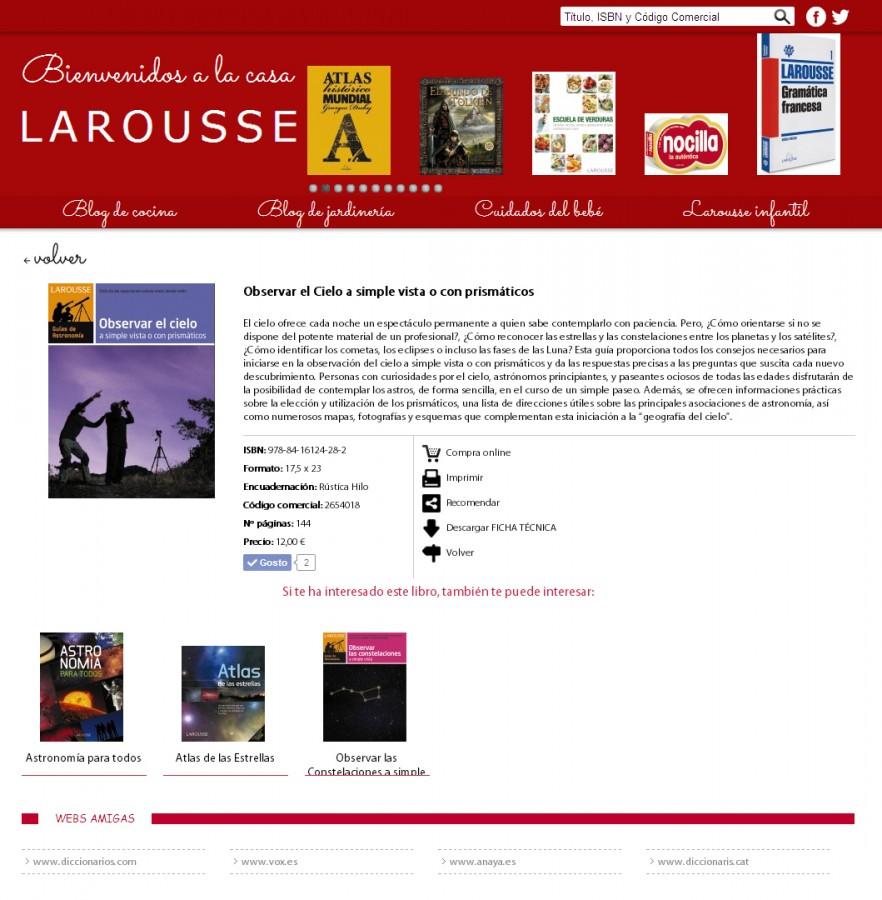 LAROUSSE-ObservarElCielo
