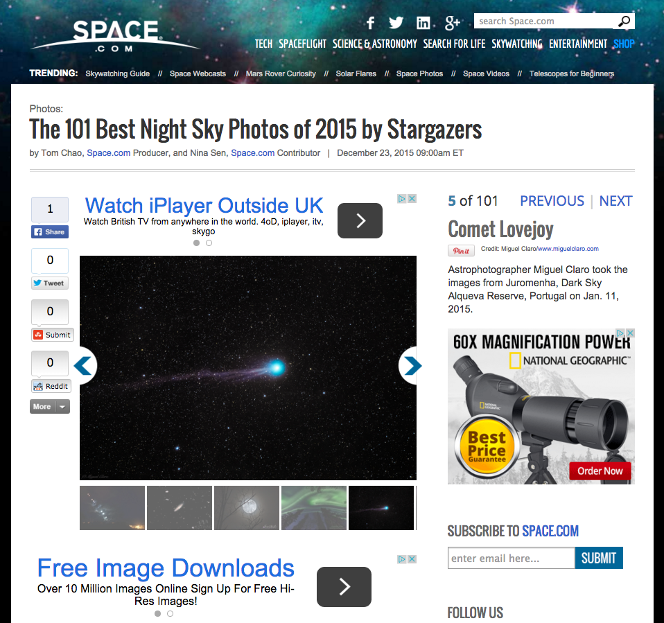 Space.com - 101 Best Night Photo 2015 -1