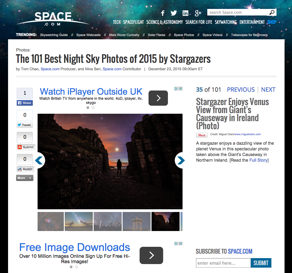 Space.com - 101 Best Night Photo 2015 -2