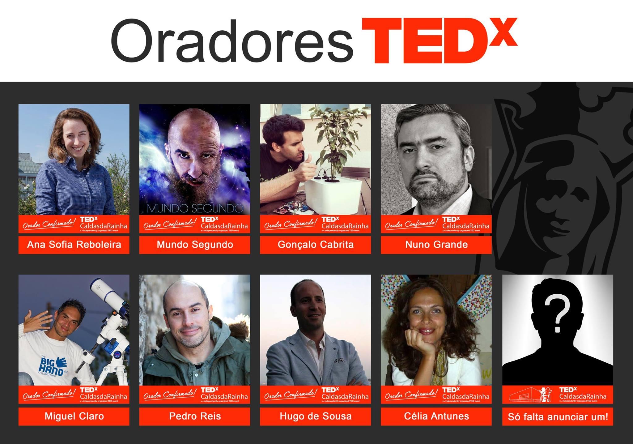 TEDxCaldasRainha-Cartaz