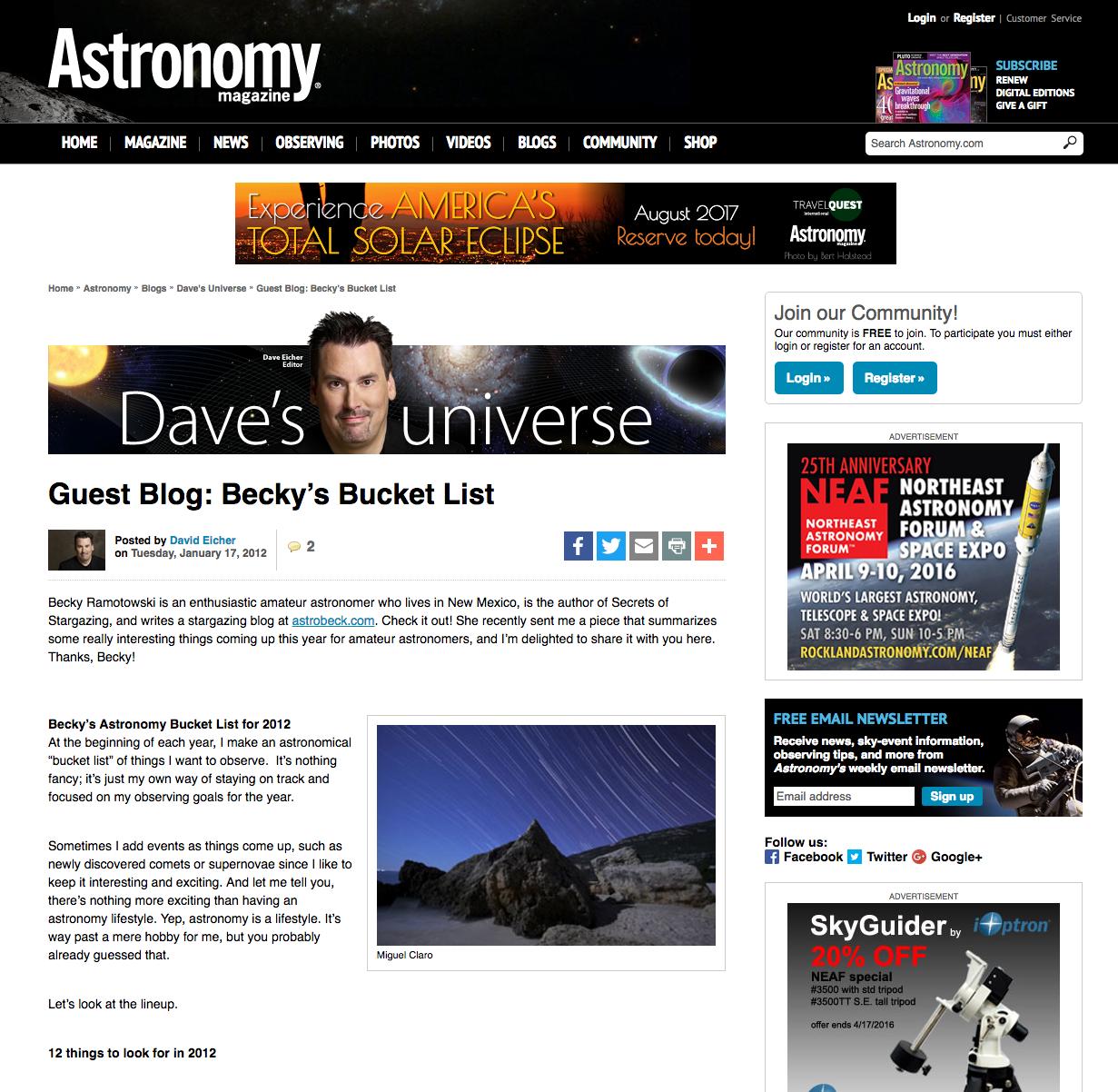 AstronomyMagOnline-BeckysList-17Jan2012