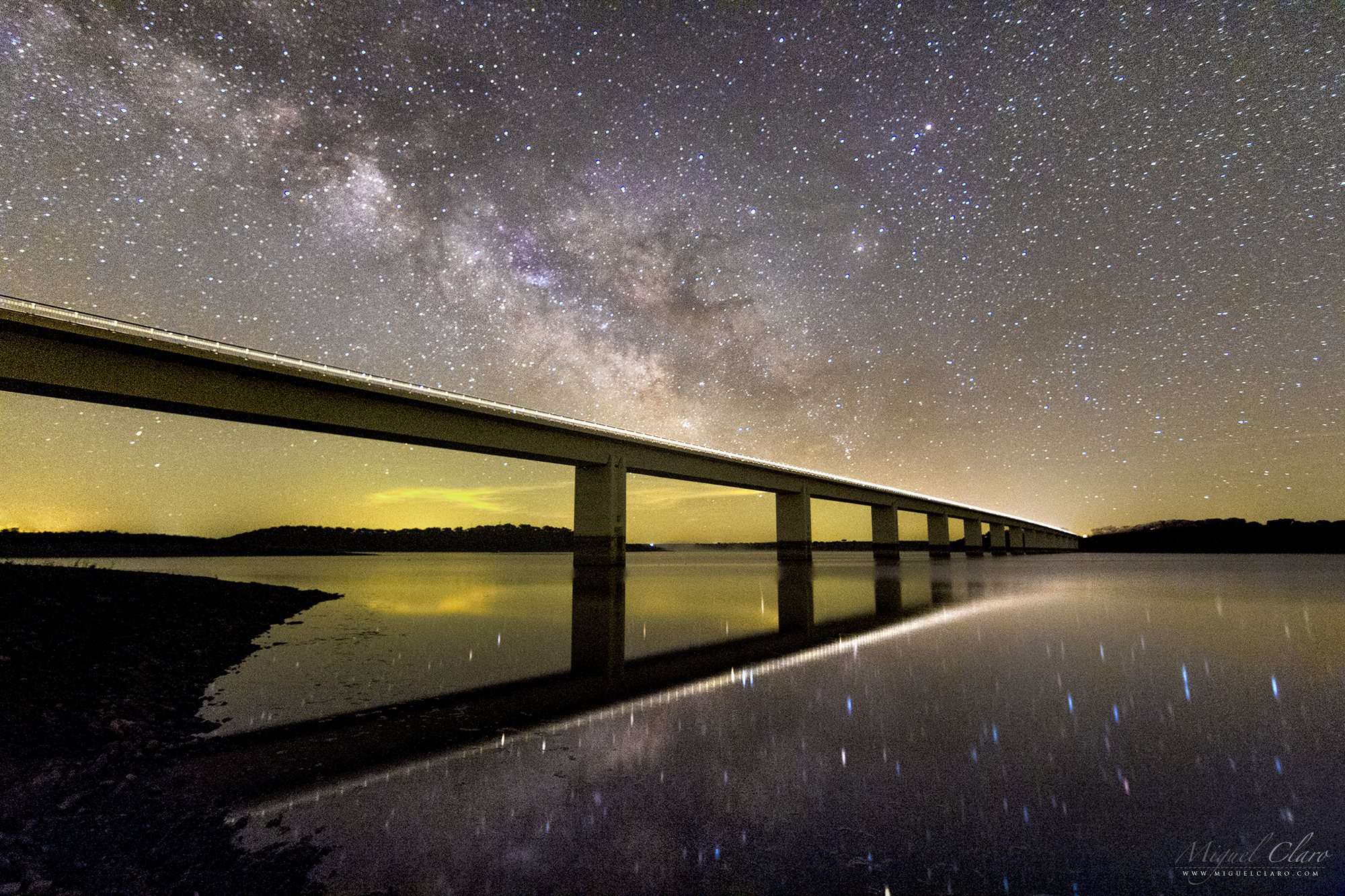 Night sky portfolio categories astrophotography by miguel claro bridge of light connecting worlds realities and dimensions fandeluxe Gallery