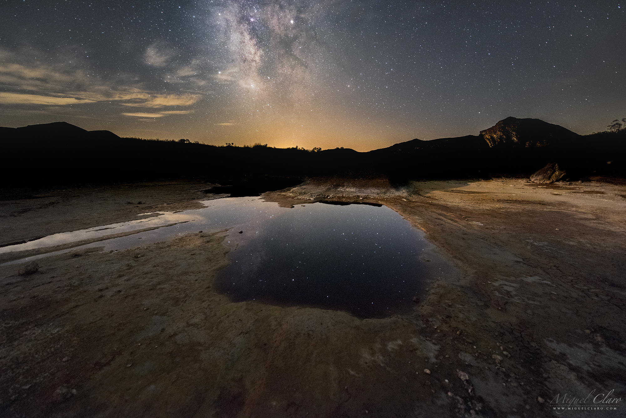 By year 2017 portfolio categories astrophotography by miguel the magnificent chemical landscape from achada do gamo seems to show an hole to the universe where we can immerse through a puddle of acid waters fandeluxe Gallery