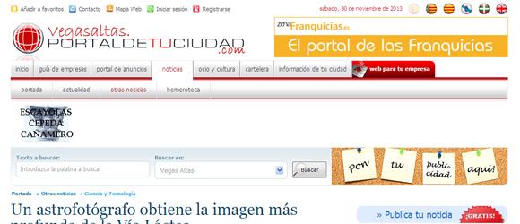 "Online News in Spain "" Vegasaltas – Portal de Tu Ciudad"
