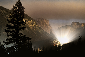Best Dslr For Video 2017 >> Milky Way from the Tunnel View of Yosemite National Park ...