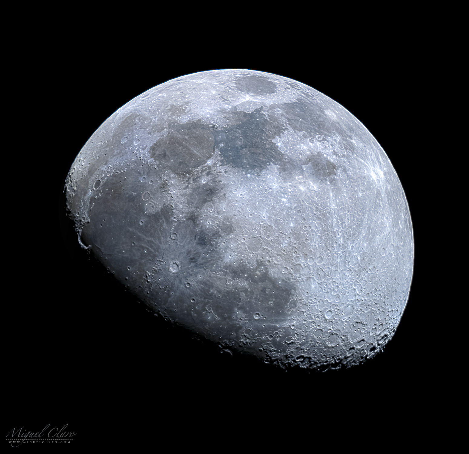 Moon In Close Up Portfolio Categories Astrophotography By